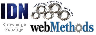webMethods @ IDN Knowledge Xchange Logo